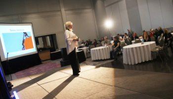 """Jacqueline Arbogast, organisatrice et conférencière de la journée sur """"La résilience ou Comment rebondir dans la vie"""""""