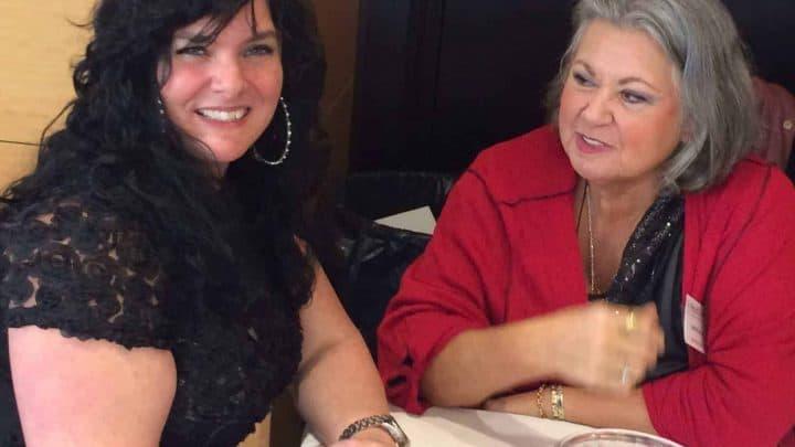 Ginette Reno et Kathy Tropiano, salon de l'Éveil 2017