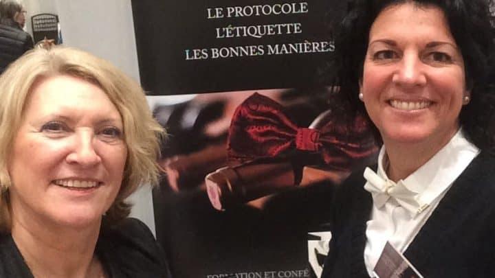 Jacqueline Arbogast et Manon Paquette