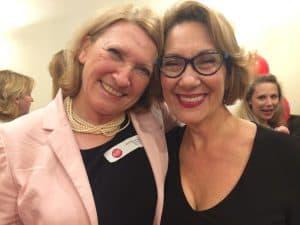 Jacqueline Arbogast et Daniele Henkel au 35ème anniversaire du RFAQ à Montréal