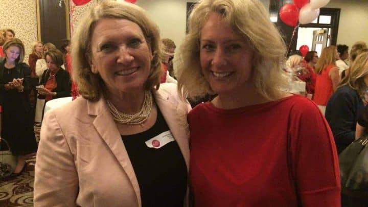 Jacqueline Arbogast et Judith Bérard au 35ème anniversaire du RFAQ à Montréal