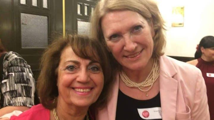 Jacqueline Arbogast et Magda Taraboulsi au 35ème anniversaire du RFAQ à Montréal