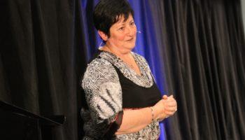 Sylvie Boyer, fondatrice de Vents d'Espoir, invité par Jacqueline Arbogast