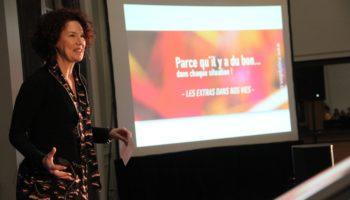 Majoly Dion, conférencière invitée par Jacqueline Arbogast